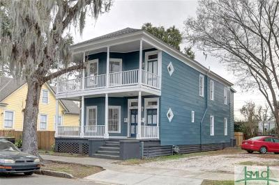 Savannah Multi Family Home For Sale: 213 W 41st Street