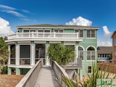 Tybee Island Single Family Home For Sale: 3 6th Terrace