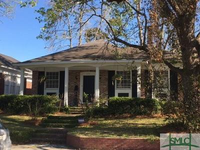Savannah Single Family Home For Sale: 404 E 51st Street