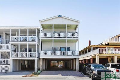 Tybee Island Condo/Townhouse For Sale: 5 17th Street #A