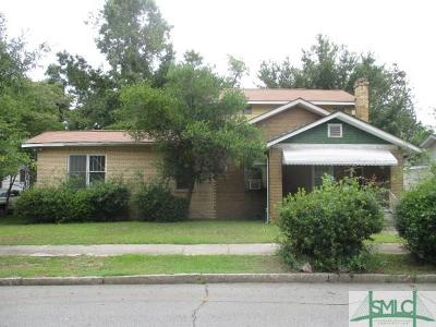 Savannah Single Family Home Active Contingent: 612 W 45th Street