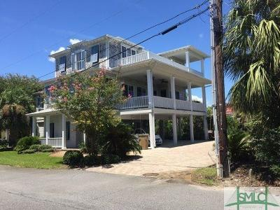 Tybee Island Single Family Home For Sale: 8 Center Place