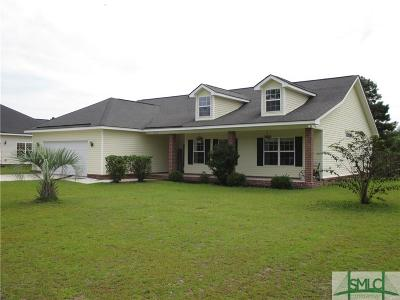 Guyton Single Family Home For Sale: 633 Nease Road