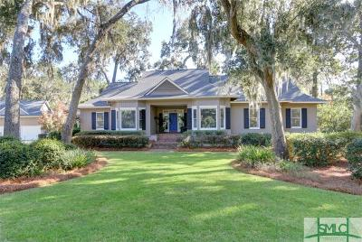 Savannah GA Single Family Home For Sale: $579,000