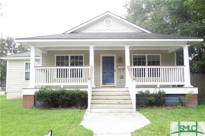 Savannah GA Single Family Home For Sale: $130,000