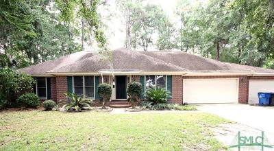 Richmond Hill Single Family Home For Sale: 2228 Fort McAllister Road