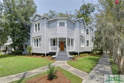 Savannah Single Family Home For Sale: 1130 E Henry Street