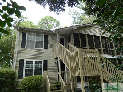 Savannah Condo/Townhouse For Sale: 401 N Cromwell Road #F7