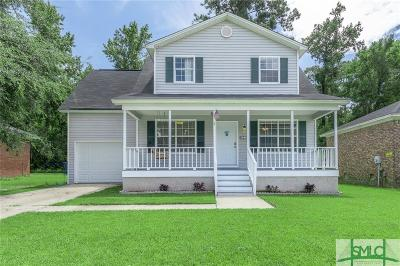 Savannah GA Single Family Home For Sale: $205,000