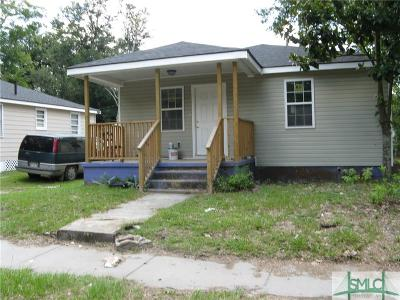 Savannah Single Family Home For Sale: 216 Lawton Avenue