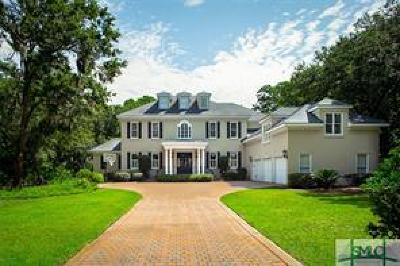 Savannah Single Family Home For Sale: 24 Tidewater Way