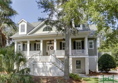 Savannah Single Family Home For Sale: 118 Marsh Harbor Drive S