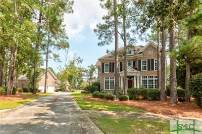 Pooler Single Family Home For Sale: 8 Cobham Draw