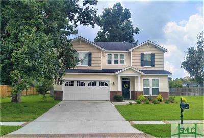 Savannah Single Family Home For Sale: 213 Sawgrass Drive