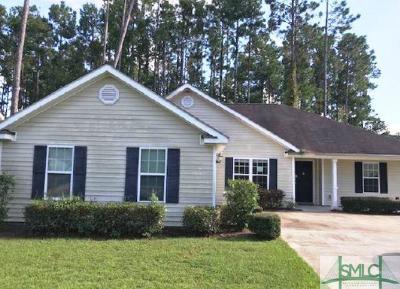 Brunswick GA Single Family Home For Sale: $169,900