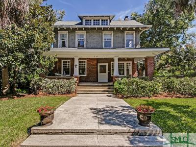Savannah Single Family Home For Sale: 636 E 41st Street