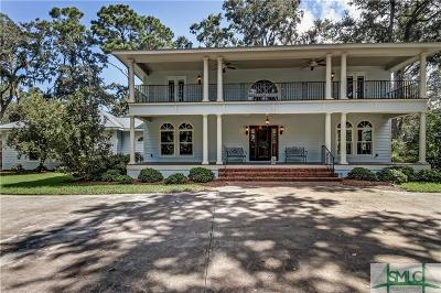 Savannah Single Family Home For Sale: 57 Delegal Road