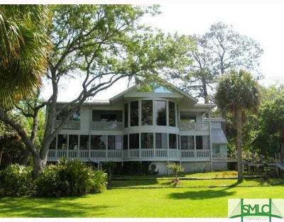 Savannah GA Single Family Home For Sale: $1,600,000