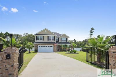 Ludowici Single Family Home For Sale: 123 NE Thornbush Court
