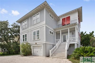 Tybee Island Single Family Home For Sale: 12 Sanctuary Place