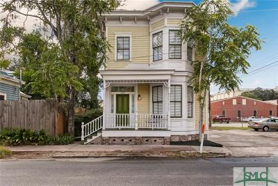 Savannah Single Family Home For Sale: 1210 Whitaker Street