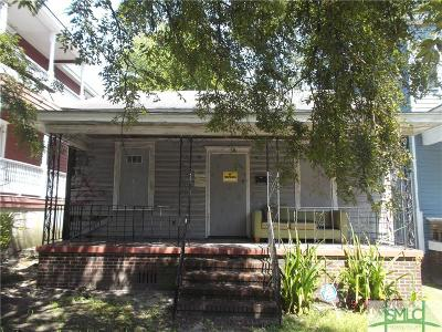 Savannah Single Family Home For Sale: 512 E Anderson Street