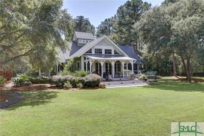 Okatie SC Single Family Home For Sale: $2,200,000