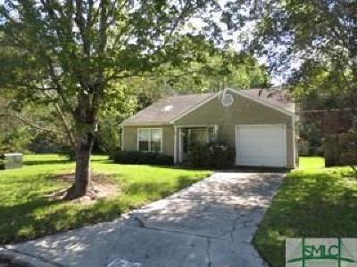 Savannah GA Single Family Home For Sale: $114,900