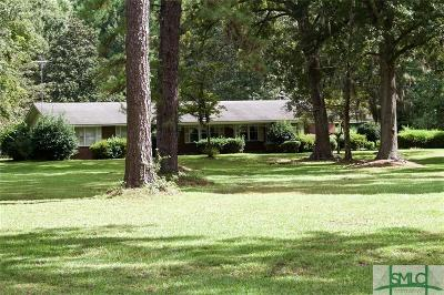 Pooler Single Family Home For Sale: 1270 Us Highway 80 Highway W