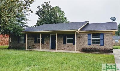 Hinesville Single Family Home Active Contingent: 129 Deerwood Court