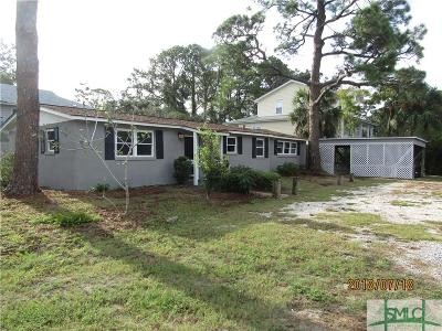 Tybee Island Single Family Home For Sale: 602 Miller Avenue