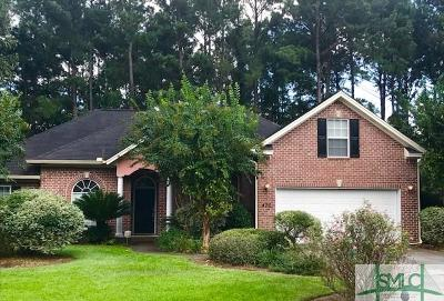Pooler Single Family Home For Sale: 470 Copper Creek Circle
