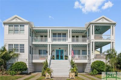 Tybee Island GA Single Family Home For Sale: $1,585,000
