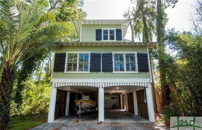 Tybee Island Single Family Home For Sale: 146 S Campbell Avenue