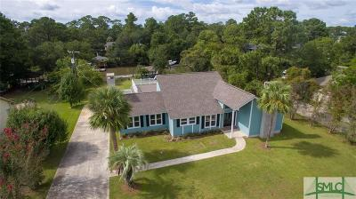 Savannah Single Family Home For Sale: 4 Hardee Drive