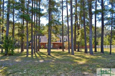 Guyton Single Family Home For Sale: 2554 Noel C Conaway Road