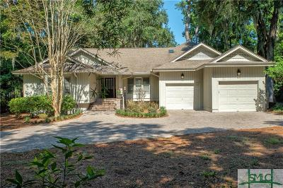 Savannah GA Single Family Home For Sale: $549,000