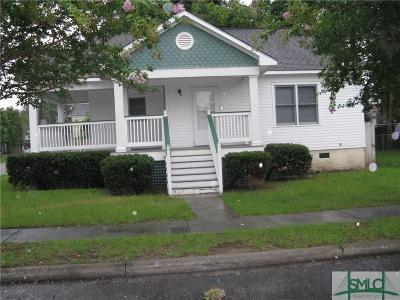 Savannah GA Single Family Home For Sale: $99,900