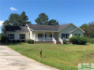 Statesboro Single Family Home For Sale: 923 Tee Pee Way