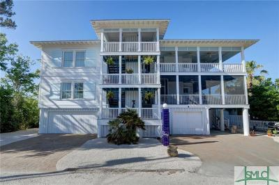 Tybee Island GA Single Family Home For Sale: $1,559,000