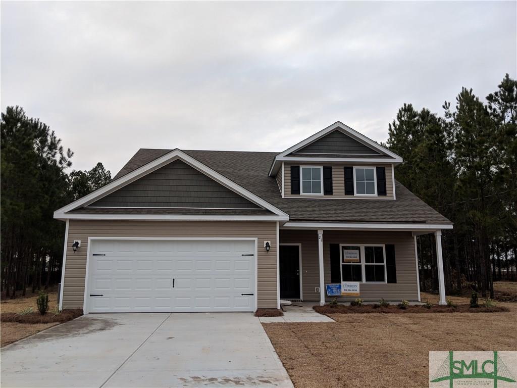 22 Saddlebrush, Ellabell, GA, 31308, Ellabell Home For Sale