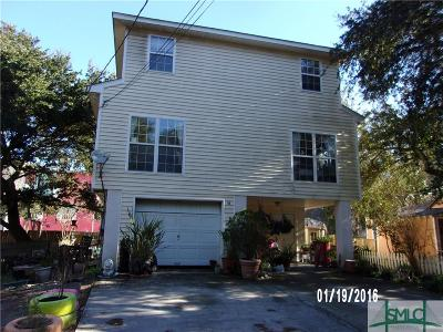 Tybee Island GA Single Family Home Active Contingent: $275,000