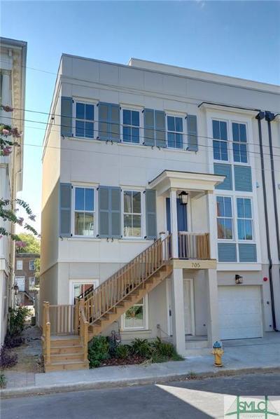 Savannah Condo/Townhouse For Sale: 705 Howard Street