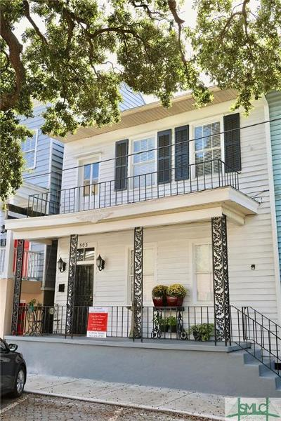 Savannah Condo/Townhouse For Sale: 503 E McDonough Street #B