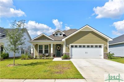 Pooler Single Family Home For Sale: 179 Martello Road