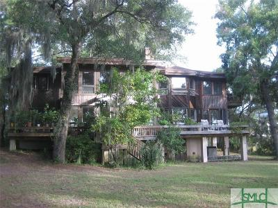 Savannah Single Family Home For Sale: 100 Green Island Road