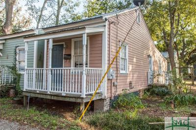 Savannah Single Family Home For Sale: 609 E Park Lane
