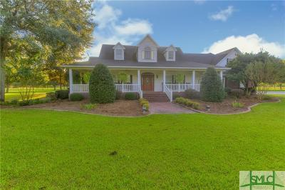 Single Family Home For Sale: 2000 Old Reidsville Collins Road