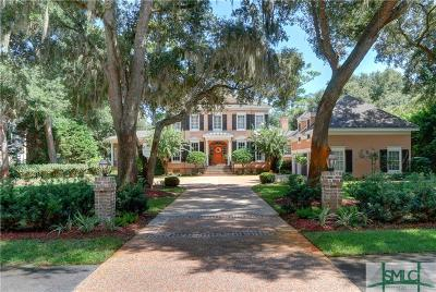 Savannah Single Family Home For Sale: 31 Tidewater Way