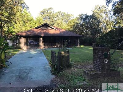 Pooler GA Single Family Home Active Contingent: $66,000